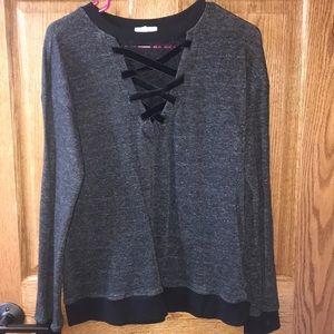 Dark Charcoal Maurices Sweatshirt | Large
